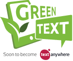 Green Text - Soon to become TextAnywhere